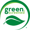 Green Screened logo