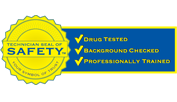 Technician Seal of Safety logo by McBride Electric