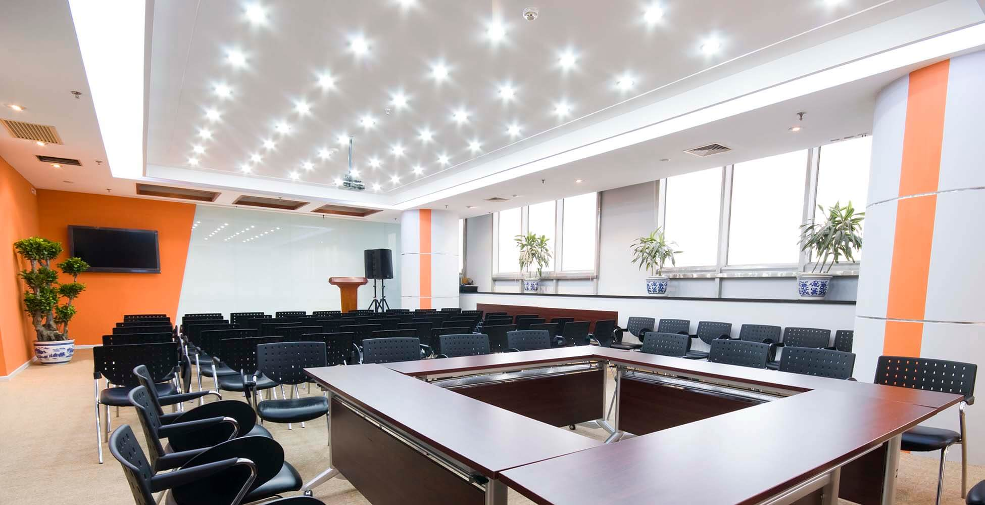Commercial Electrical and Lighting service by McBride Electric